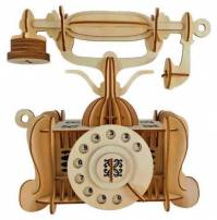 طرح تلفن قدیمی